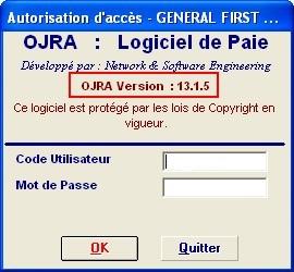 Logiciel de gestion de paie OJRA